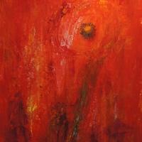 Mohnblume rot
