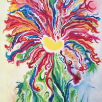 Verrückte Wunderblume