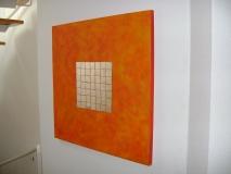 Ambiente silver and orange