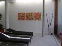 Ambiente mit drei Quadraten