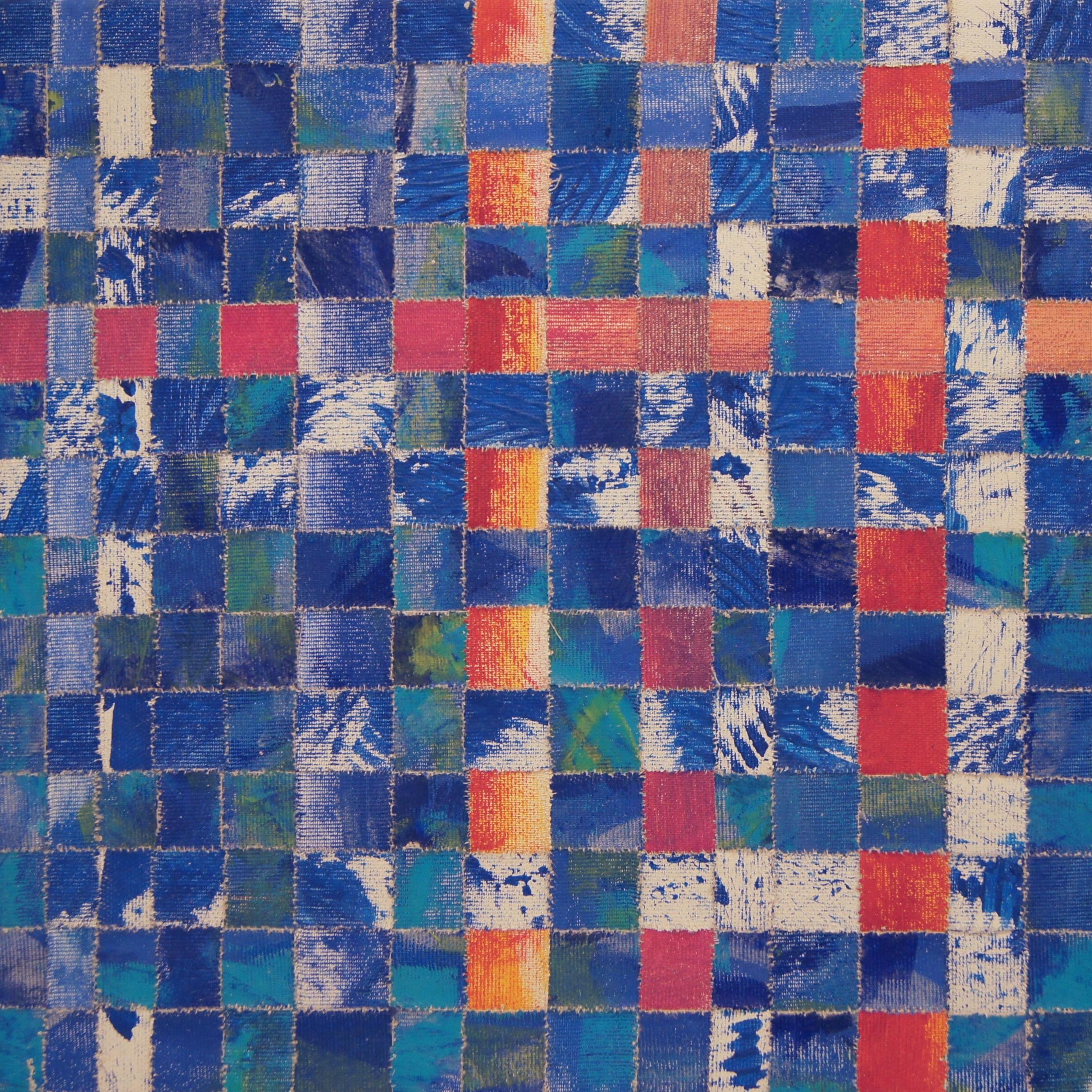 Mosaik blau